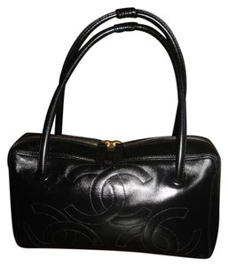 Chanel Made In Italy Large Pitch Tote in Black
