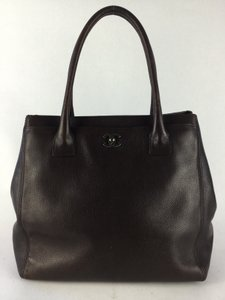 Chanel Executive Medium Italy Tote in Brown