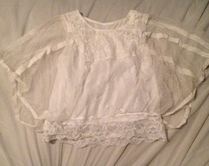 Other Boho Bohemian Crochet Lace Top White
