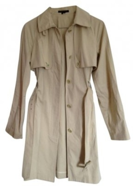 Preload https://item3.tradesy.com/images/theory-biege-trench-coat-size-8-m-12462-0-0.jpg?width=400&height=650
