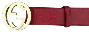 Gucci Gucci GG belt with interlocking