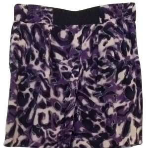 Forever 21 Skirt Purple, Black