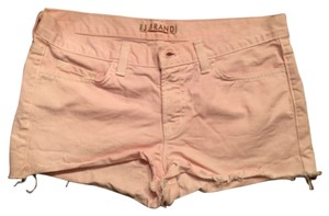 J Brand Cut Off Shorts Pink