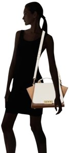 Zac Posen Leather Geometric Shoulder Bag