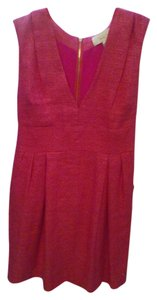 ADAM short dress pink Style Es9lt735 Color Size 10 on Tradesy