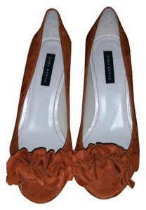 Zara Tan Cognac Pumps
