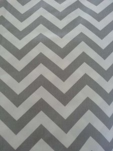 Grey and White Chevron Pattern Fully Lined Photo Station Back Drop Reception Decoration