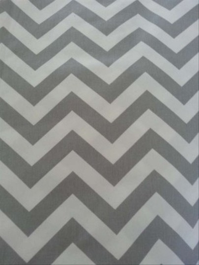 Grey And White Chevron Fully Lined Photo Station Back Drop