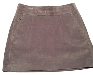 Banana Republic Mini Skirt Gray