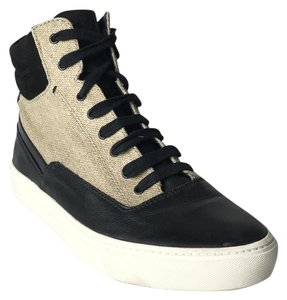 Vince High Top Sneakers Sneakers Sneakers High Tops Black/Beige Athletic
