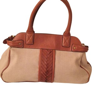 Cole Haan Satchel in Beige