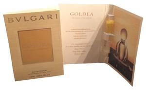BVLGARI 2 1.5 ml Sample Sprays of the brand new fragrance Goldea