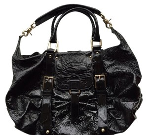 Botkier Patent Leather Satchel in Black