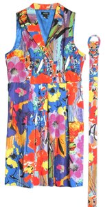 Spense short dress Multi-color on Tradesy