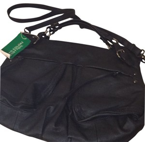 United Colors of Benetton Satchel in Black