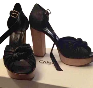 Chlo Black Platforms