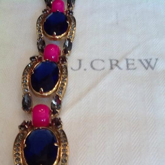 J.Crew Jcrew Royal And Pink Necklace