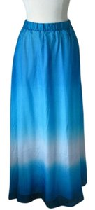 White House | Black Market Maxi Skirt blue