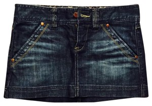 Express Mini Skirt Jean