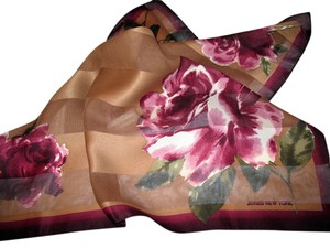 Jones New York Vintage Jones New York Rich Floral Scarf, 22 x 22