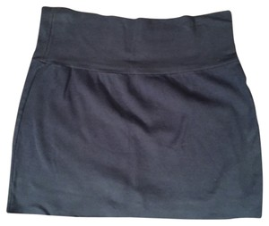 American Apparel Mini Skirt Blue