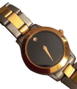 Movado Movado Luno Two-Tone Women's watch