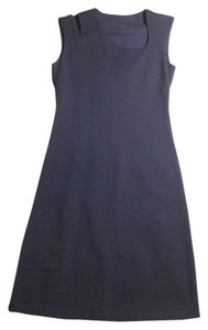 DKNY Cut-out A-line Sleeveless Classic Dress