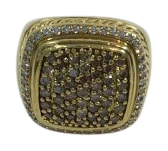 David Yurman DAVID YURMAN ALBION CHAMPAGNE DIAMOND COCKTAIL RING 2.00CTW