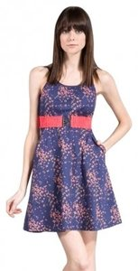Modern Amusement short dress Navy on Tradesy