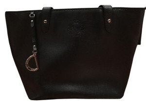 Ralph Lauren Tote in Black & Brown