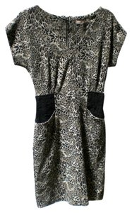 Jonathan Martin short dress black, grey on Tradesy