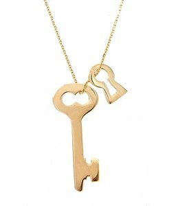 Lana Jewelry Lana Key & Lock Necklace