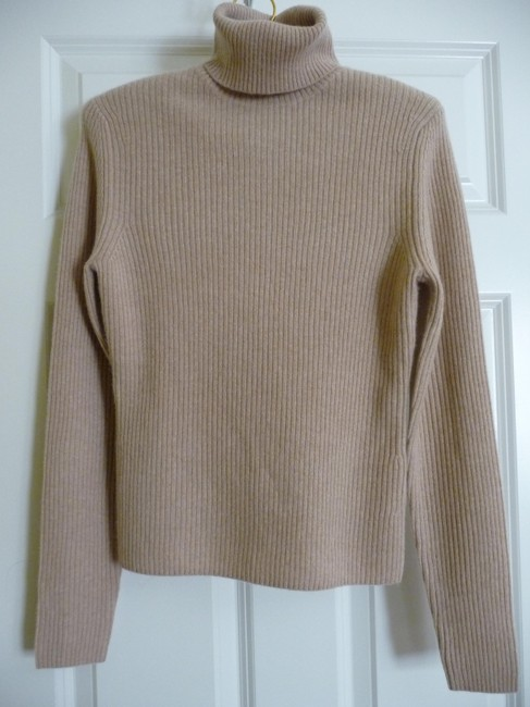 Bloomingdales Cashmere Turtleneck Ribbed Wool Sweater