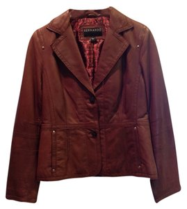 Bernardo Super Soft Brown Leather Jacket