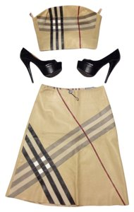 Burberry London Skirt Beige original name brand