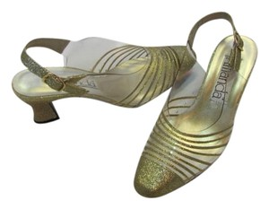 Amanda Gold Size 7m CLEAR,GOLD Formal