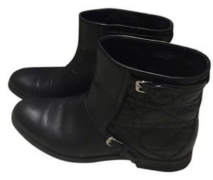 Dior Classic Leather Cannage Black Boots