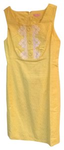 Lilly Pulitzer short dress Lemon Sorbet (yellow) on Tradesy