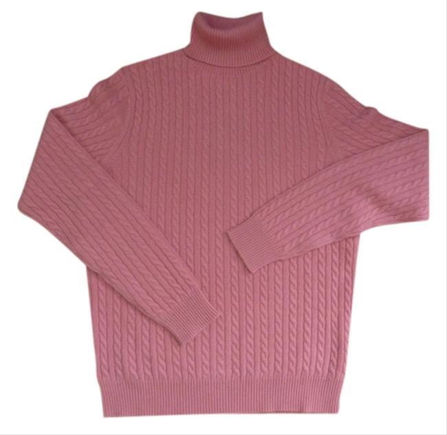 Charter Club Cashmere Cable Turtleneck Wool Sweater