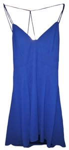 Express short dress Blue Summer on Tradesy
