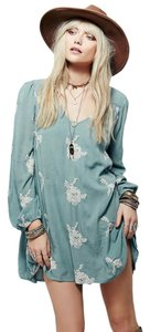 Free People short dress Misty Green on Tradesy