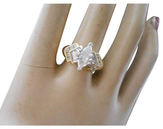 New York Jeweler EXQUISITE Marquis Shaped Diamonds with Bagettes
