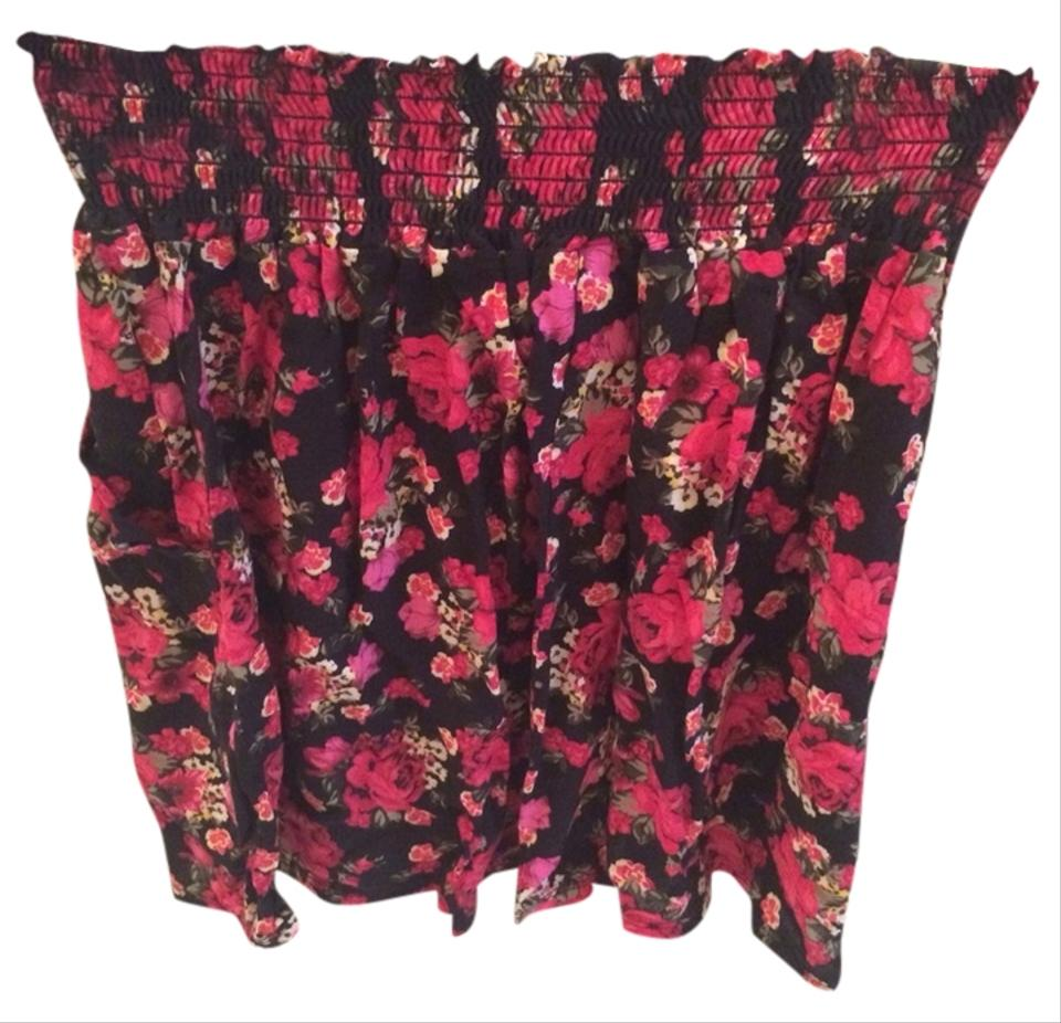 French Atmosphere Multicolor Skirt Size Petite 12 (L) - Tradesy b0441e638