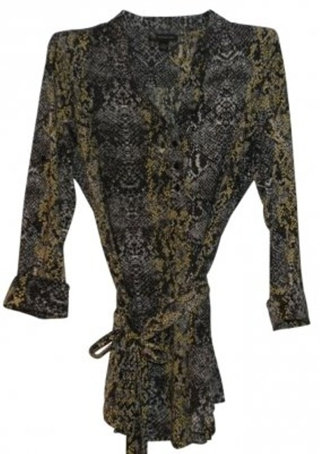 Preload https://item4.tradesy.com/images/inc-international-concepts-black-grey-and-yellow-silky-blouse-size-12-l-12468-0-0.jpg?width=400&height=650