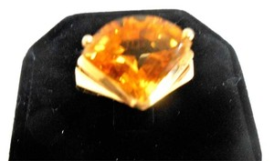 New York Jeweler 5 ct. Brilliant Citrine in 14k Yellow Gold