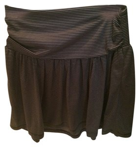 Xhilaration Skirt Black/gray