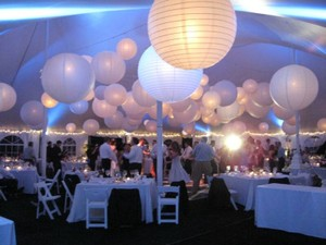 """White - 20 Pieces Mix Sizes 6"""" 8"""" 10"""" 12"""" Chinese Round Sky Paper Lanterns Lamp Birthday Party Ceremony Decoration"""