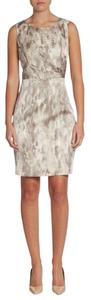 Tahari Beverly Snake Print Sheath Sz 8 Dress