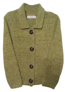 Willow & Clay Knits Green Sweater Cardigan