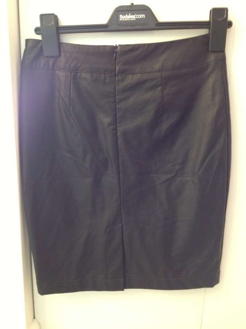 Forever 21 Skirt Black Leather